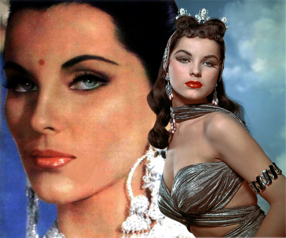 Mark Rappaport. Debra Paget 2015 1